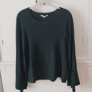 BNWT Evereve Tie Sleeve Sweater (Large)